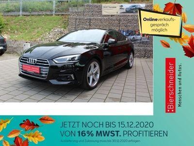 gebraucht Audi A5 Sportback 2.0 TFSI tronic S Line NAVI LED ACC