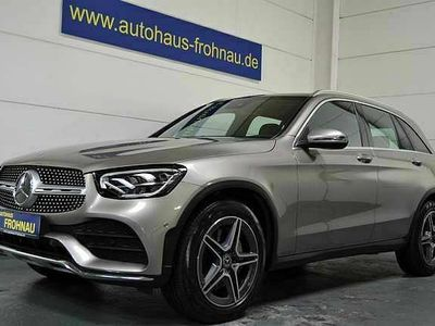 "gebraucht Mercedes 200 GLC4-Matic AMG Aut. 19""Zoll Pano Totwinkel el. AHK"