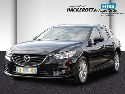 gebraucht Mazda 6 Kombi Center-Line 2.0 SKYACTIV-G 15 Navi Keyless PDCv+h Tel.-Vorb. Multif.Lenkrad Klimaautom