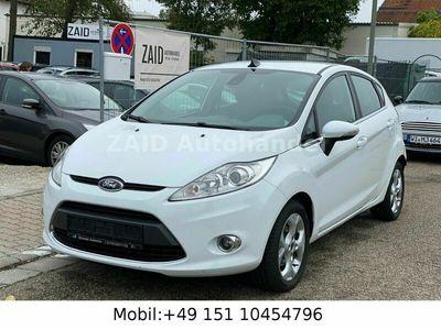 gebraucht Ford Fiesta Titanium*5 Türig*Xenon*Euro5*Bluetooth