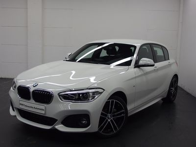 used BMW 118 i 5-Türer M Sportpaket+Navi+LED+SHZ+PDC+GRA