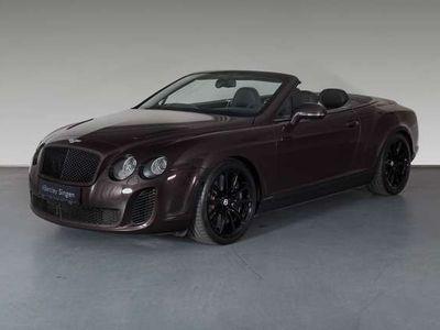 gebraucht Bentley Continental GTC Supersports Singen