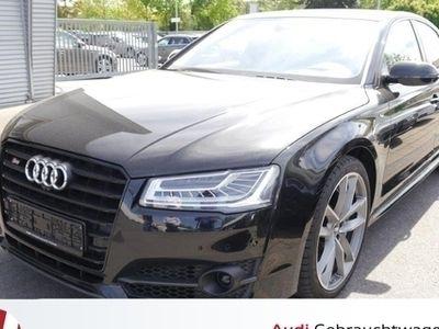 gebraucht Audi S8 plus Airview Bose Servoschließung AHK LED Carbon