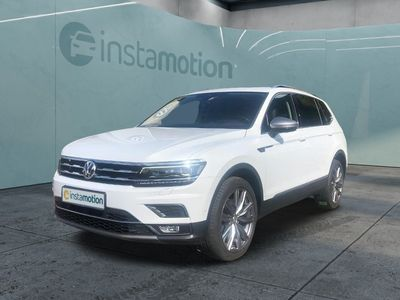 gebraucht VW Tiguan Allspace Tiguan2.0TDI DSG Navi AID LED Pano AHK