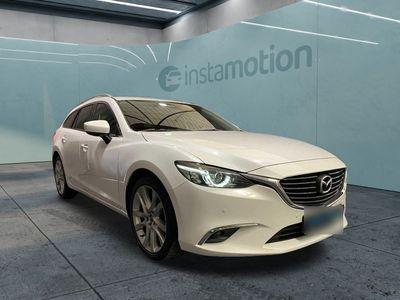 gebraucht Mazda 6 6SKY-D 150 KIZOKU NAV+PDC+KAMERA+LED+SHZ 1.HAND