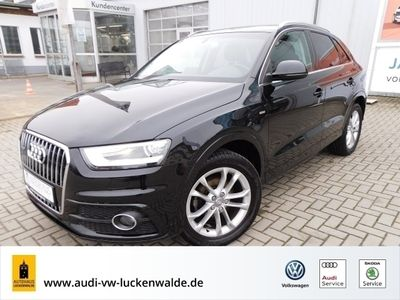gebraucht Audi Q3 2.0 TDI quattro S line S tronic *PANO*PDC*XENON*