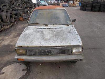 usado VW Derby Baujahr 1978 ohne Papiere VERKAUF Schlachtefest