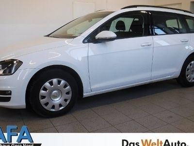 gebraucht VW Golf VII Var. 1,6 TDI Trendline Navi*SHZ*Temp*EU
