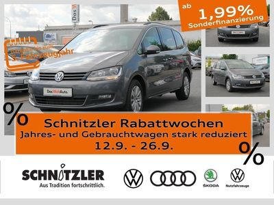 gebraucht VW Sharan 2.0 TDI (EU6-temp) DSG (7-Sitzer) Lane Assist/Nav