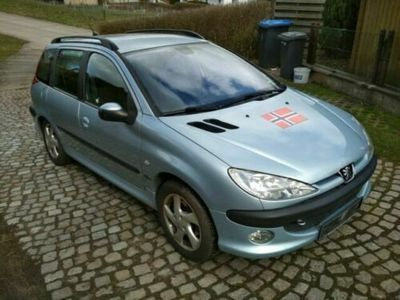 used Peugeot 206 SW