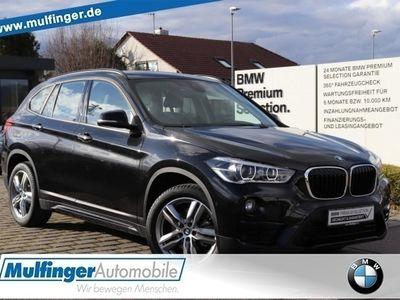 gebraucht BMW X1 xDrive 18d Sport Leder Navi LED Tempomat AHK