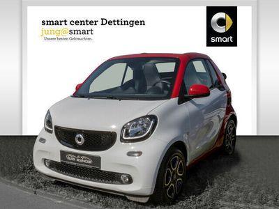 gebraucht Smart ForTwo Cabrio 52 kW Autom USB Klima Leder LED