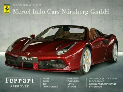 gebraucht Ferrari 488 Spider ROSSO RUBINO*** NÜRNBERG***
