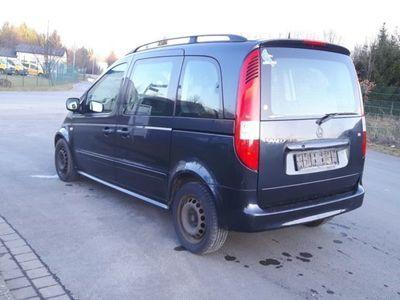 gebraucht Mercedes Vaneo 1.6 Ambiente/ Klima etc./ Grau Metallic