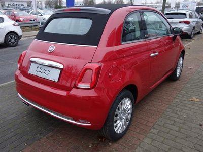 gebraucht Fiat 500C Cabrio 1.2 8V Lounge Automatik Klima