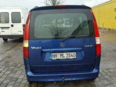 gebraucht Mercedes Vaneo 1,7 CDI Klima,Automatik, Anhängerkupplung