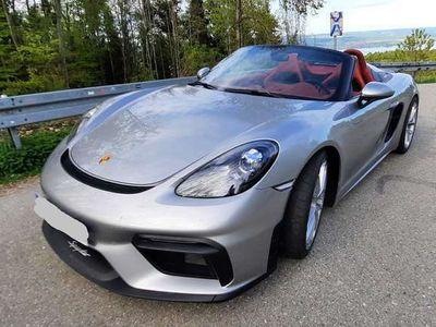 gebraucht Porsche 718 Spyder Grundausstattung