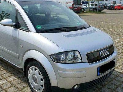 gebraucht Audi A2 1,4 *Benzin*Klima*8 fach bereift*S...