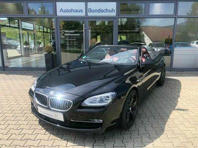 gebraucht BMW 650 Cabriolet i xDrive *Head-Up*Navi*Kamera*Nappa* als Cabrio/Roadster in Reichelsheim