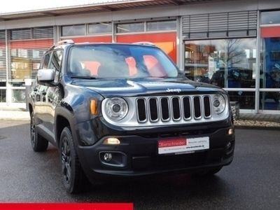 gebraucht Jeep Renegade Limited 2.0l MultiJet 4WD NAVI KAMERA EINPARKHILFE SITZHEIZUNG