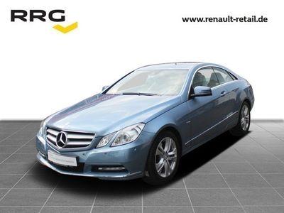 gebraucht Mercedes E350 CDI COUPE Blue Efficiency Vollleder, Licht-Paket