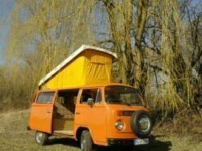 gebraucht VW T2 b als Camper mit 87000 km und neuem TÜV
