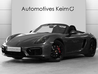 gebraucht Porsche Boxster GTS PDK ACC SPORTABGAS PA v&h PCM SH