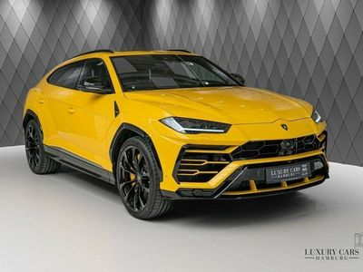 gebraucht Lamborghini Urus Yellow/Black, Q-Citura,Nightvision, ADAS !!