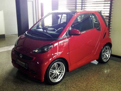 gebraucht Smart ForTwo Coupé BRABUS Xclusive red limited