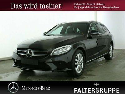 gebraucht Mercedes C220 d T NAVI+AHK+EASY-PACK+KAMERA+TOT/SPUR LED