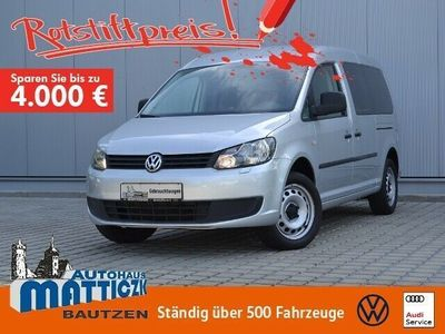gebraucht VW Caddy Maxi Life 1.6 TDI EcoProfi OPTIK-PAKET/7-S