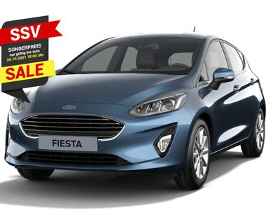 gebraucht Ford Fiesta 1.0 EcoBoost 100 Titanium LED PDC in Kehl