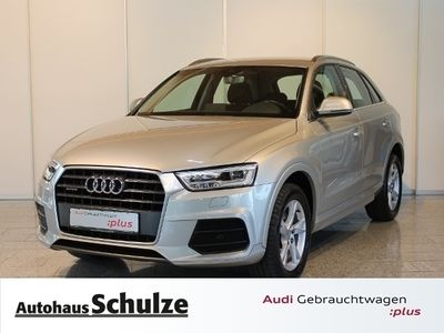 gebraucht Audi Q3 2.0 TDI sport quattro KLIMA LED NAVI ALU