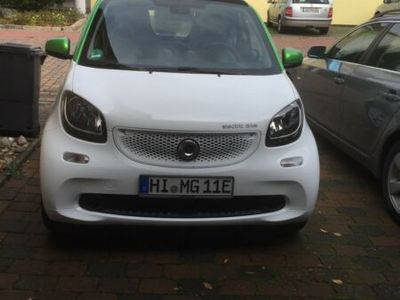 gebraucht Smart ForTwo Electric Drive coupe greenflash...