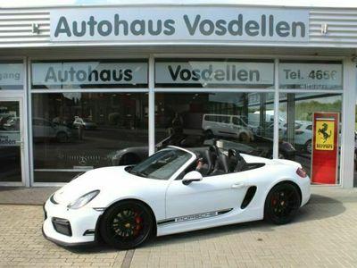 """gebraucht Porsche Boxster Spyder 20"""" Klappenauspuff Sport Chrono"""
