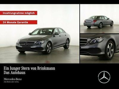 gebraucht Mercedes E220 Limousine AVANTGARDE/LED/NAVI/KAMERA/SHZ