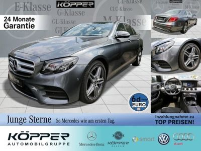 gebraucht Mercedes E350 Limousine AMG Limited Grey Comand/Styling