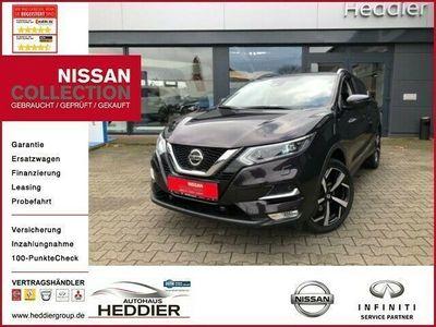 gebraucht Nissan Qashqai Tekna *LED,TEILLEDER,NAVI,360-KAMERA,ALLWETTERREIFEN*