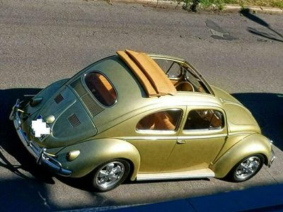 gebraucht VW Käfer VWOvali Faltdach mit H-Zulassu...