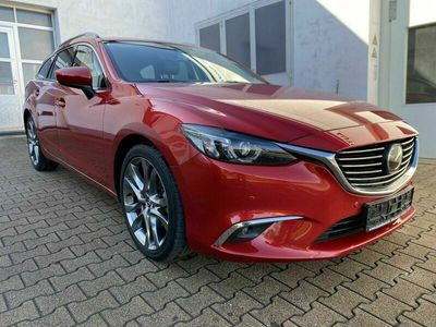 gebraucht Mazda 6 Kombi Sports-Line AWD |Leder|LED|Bose|Head-...
