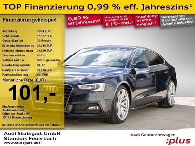 gebraucht Audi A5 2.0 TDI S line Sport Fahrwerk Sportsitze