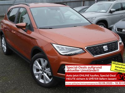gebraucht Seat Arona 1.0 TSI 95 Style LED Privacy in Achern