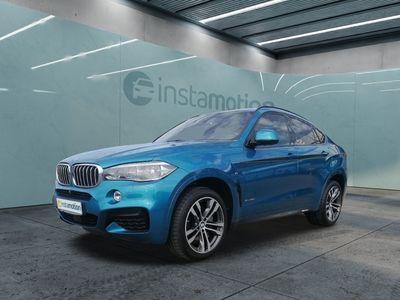 gebraucht BMW X6 X6xDrive 50 i M SPORT EDITION 20'' Leder LED Navi StandHZG Keyless AD Kurvenlicht Klimasitze