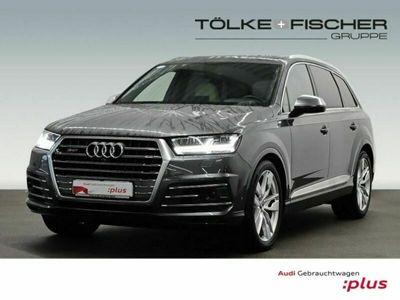 gebraucht Audi SQ7 4.0 TDI quattro 7-Sitzer Leder LED AD Kurvenlicht