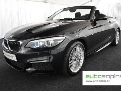 gebraucht BMW 218 iA Cabrio M-Sport LED/NAVI/ALCANT/SHZ/17-ZOLL