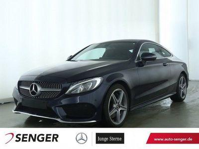 gebraucht Mercedes C300 Coupé AMG Line Navi LED Rückfahrkamera