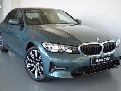 gebraucht BMW 318 d Sport Line LED Tempomat Klimaaut. Shz
