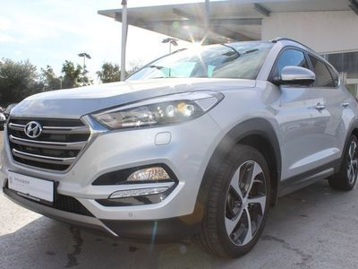 gebraucht Hyundai Tucson 1.6 T PREMIUM 4WD *Automatik*AHK*Navi* *GLASDAC