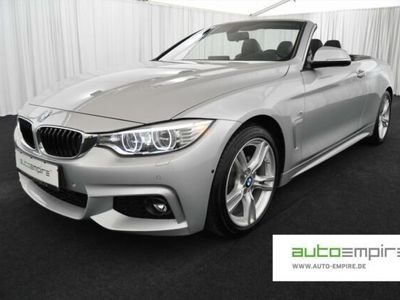 gebraucht BMW 420 dA Cabrio M-Sport +GARANTIE+ N-PROF HUD LED LEDER