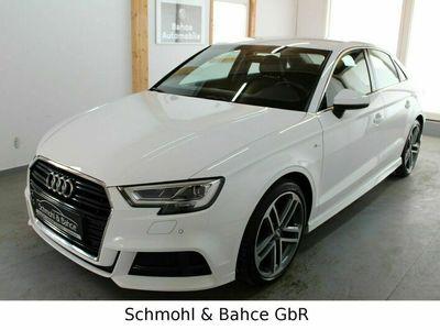 gebraucht Audi A3 Neu 35 TFSI S line sport Limo.*NAVI*LED*1.HAND*PDC*